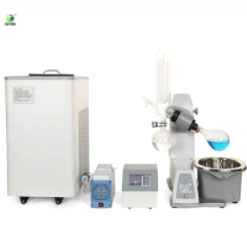Rotary evaporator ethanol recovery machine
