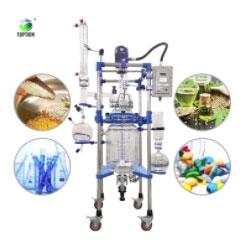 Fully customizable glass reactor