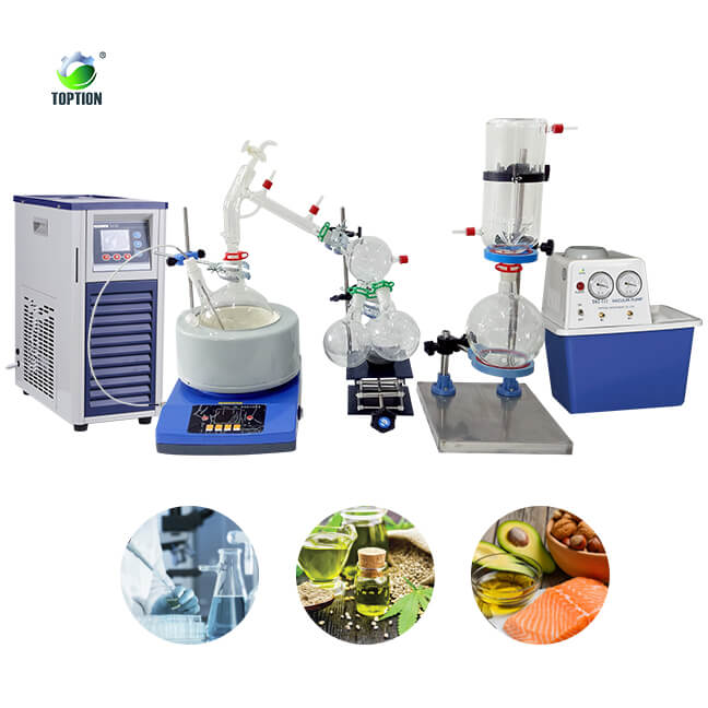 short path distillation unit